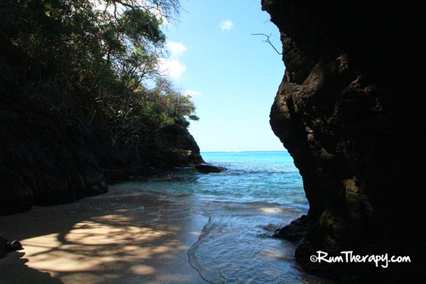 The First Time We Visited Spent Walking Through Small Cave At End Of Beach And Snorkeling In Rocky Area Around It