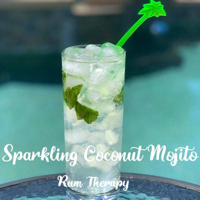 Sparkling Coconut Mojito